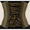 Timeless Trends Steampunk Plaid Chained Corset