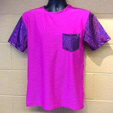 Sea Dragon Studio Mens Festival Tshirt, Pink Poison/Pink