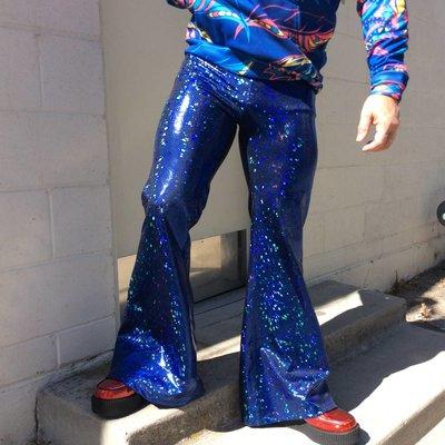 Sea Dragon Studio Mens Holographic Flares - Ultramarine