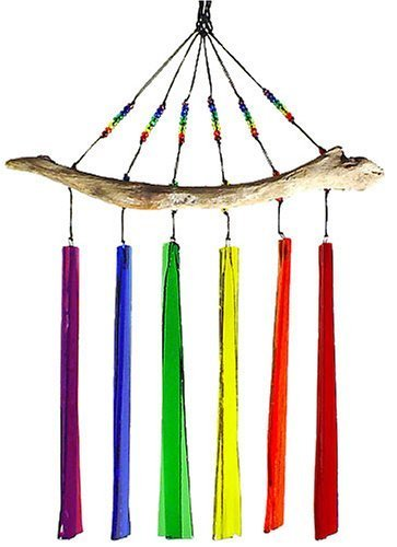 Driftwood Glass Wind Chimes