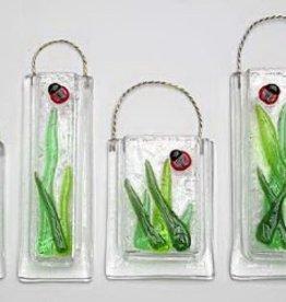 Ladybug Wall Vase