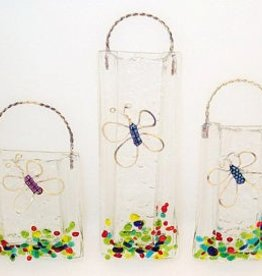Dichroic Butterfly Wall Vase