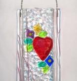 Heart Wall Vase