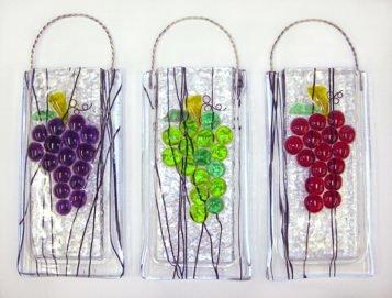 Grapes Wall Vase