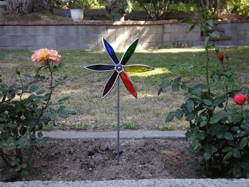 Stained Glass Pinwheel