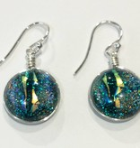 Venus Drop Dichroic Earrings