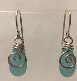 Mermaid Tear Earrings