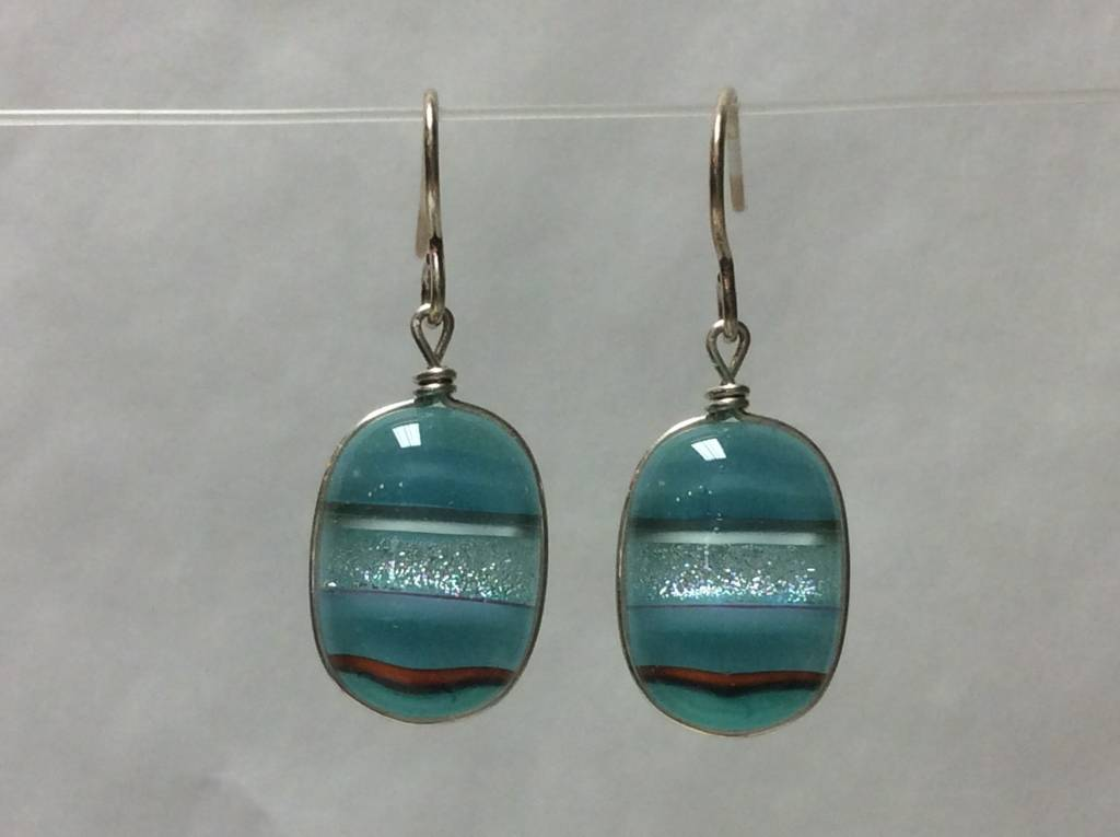 Bright Mosaic Earrings