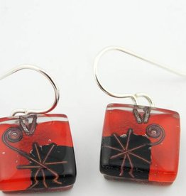 Joan's Star Cube Earrings