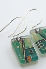Construct Drop Earrings