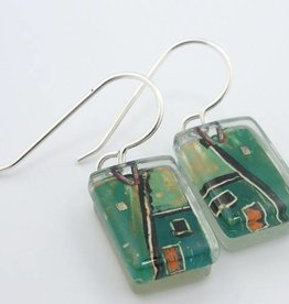 Construct Drop Earrings