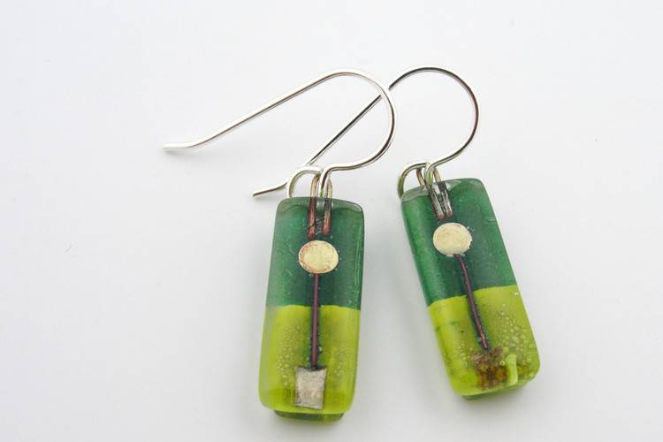 Toplary Small Bar Earrings