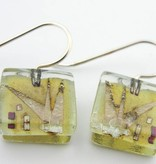 Agave Square Earrings