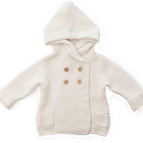 Crochet Knit Hoodie