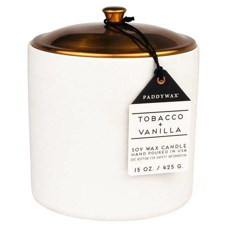 Tobacco + Vanilla Hygge Candle - 15oz