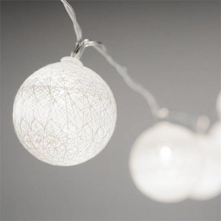 Lucent Globe LED Lights - White
