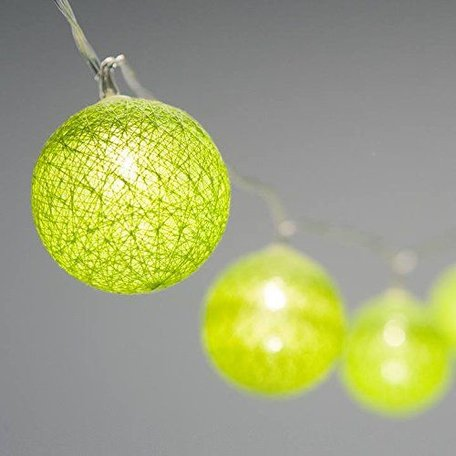 Lucent Globe LED Lights - Lime