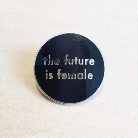 Future is Female Pin
