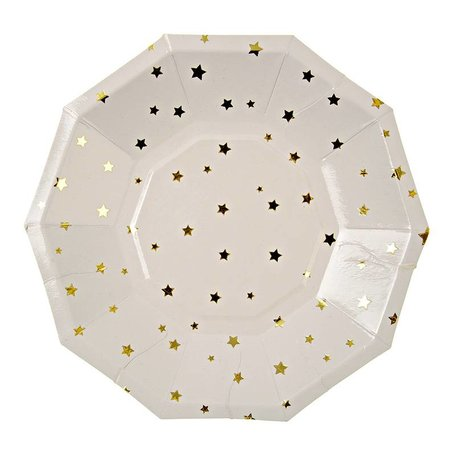 Gold Stars Plate - Small
