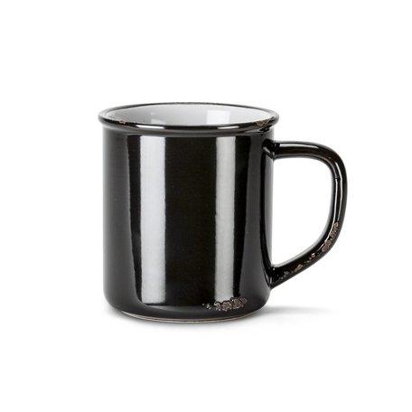 Enamel Look Stoneware Mug