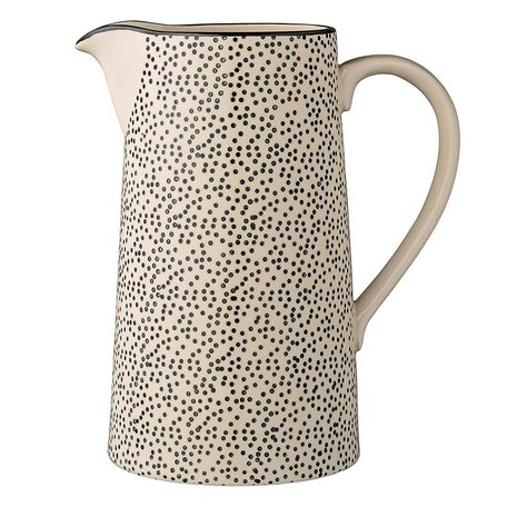 Ceramic Julie Pitcher with Dots