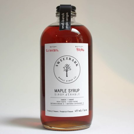 Sweetbark Amber Maple Syrup