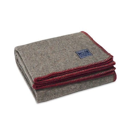 Eco-Woven Throw - Wine