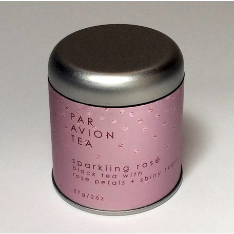 Par Avion Tea - Sparkling Rose, 2oz Tin