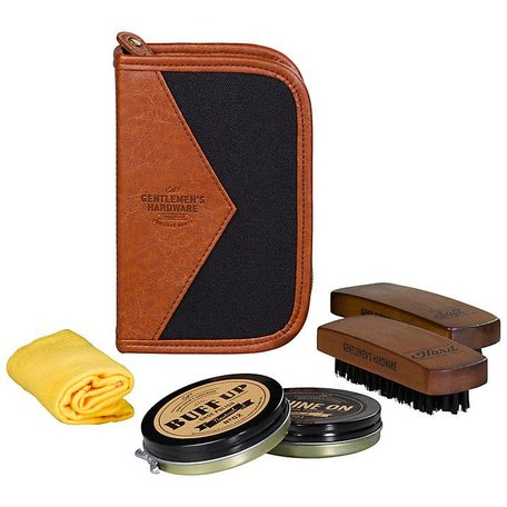 Gentlemen's Hardware Shoe Shine Kit