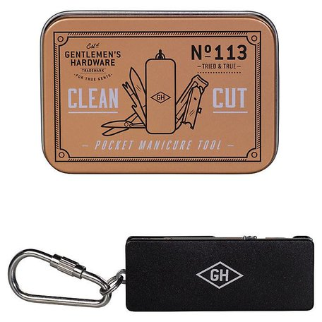 Gentlemen's Hardware Pocket Manicure Set