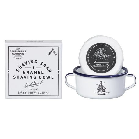 Gentlemen's Hardware Shaving Soap & Bowl