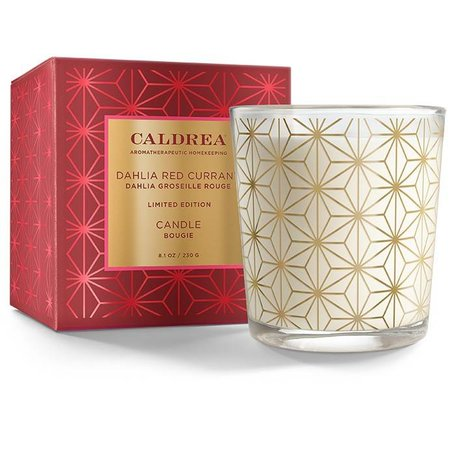 Caldrea Limited Edition Glass Candle