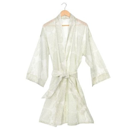 Paisley Block Print Robe