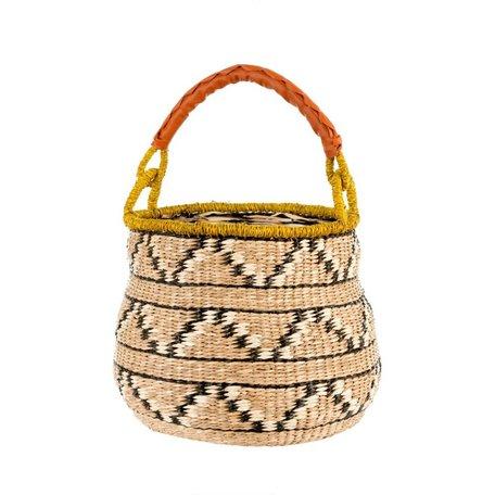 Lanai Seagrass Market Basket