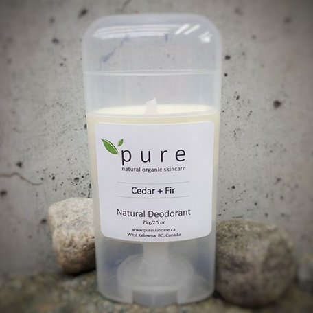Pure Natural Deodorant Cedar & Fir 75g
