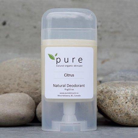 Pure Natural Deodorant Citrus 75g