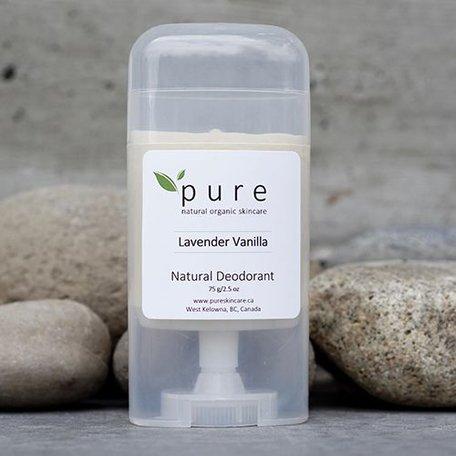 Pure Natural Deodorant Lavender + Vanilla 75g