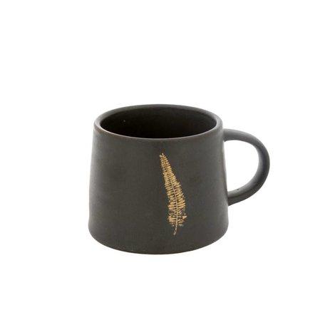 Gilded Fern Mug