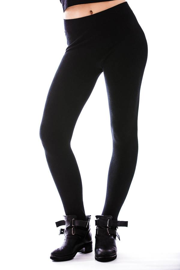 CEST MOI CLOTHING CEST BAMBOO BLACK LEGGING O/S
