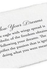 PYRRHA PYRRHA SILVER FOLLOW YOUR DREAM