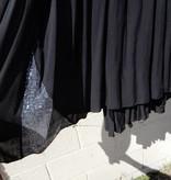 ANGELA MARA ANGELA SEQUIN TRIM DRESS
