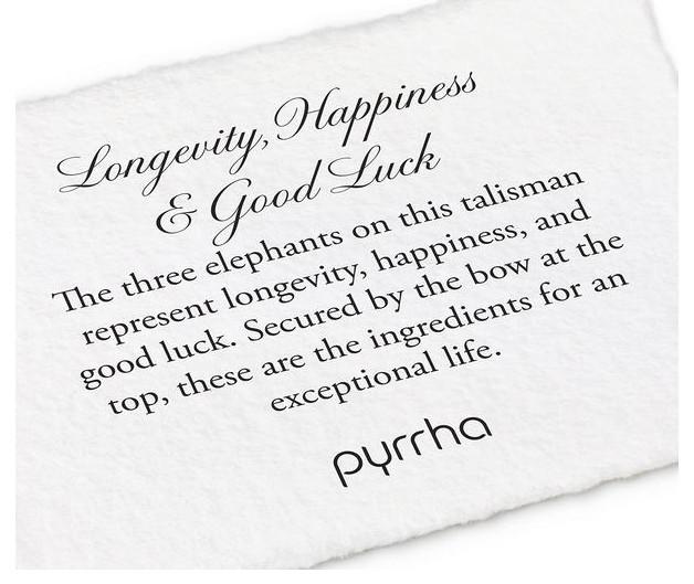 PYRRHA SILVER LONG, HAPPY, GOOD LUCK