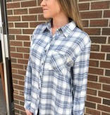 ASH&EMBER BELMONT PLAID TOP