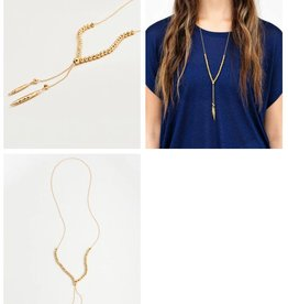 GORJANA GORJANA LAGUNA LARGE NECKLACE GOLD