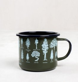 UNITED BY BLUE UNITED EVERGREEN STEEL MUG