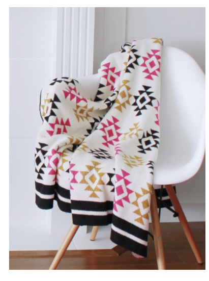 MOOD LIVING MOOD RECYCLED COTTON THROW