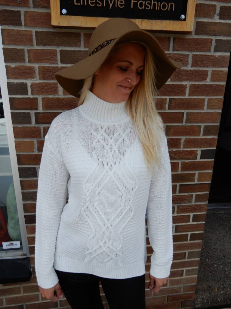 JANA TIF CABLE PULLOVER