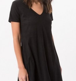 Z SUPPLY Z SUP SUEDE SHIFT DRESS
