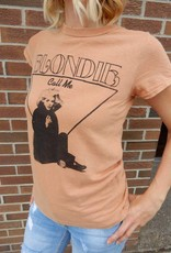 JUNKFOOD BLONDIE CALL ME TOUR TEE