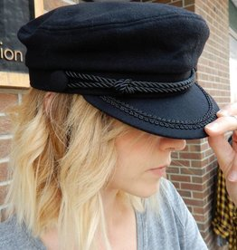 LLR VINTAGE BLACK CAPTAINS HAT